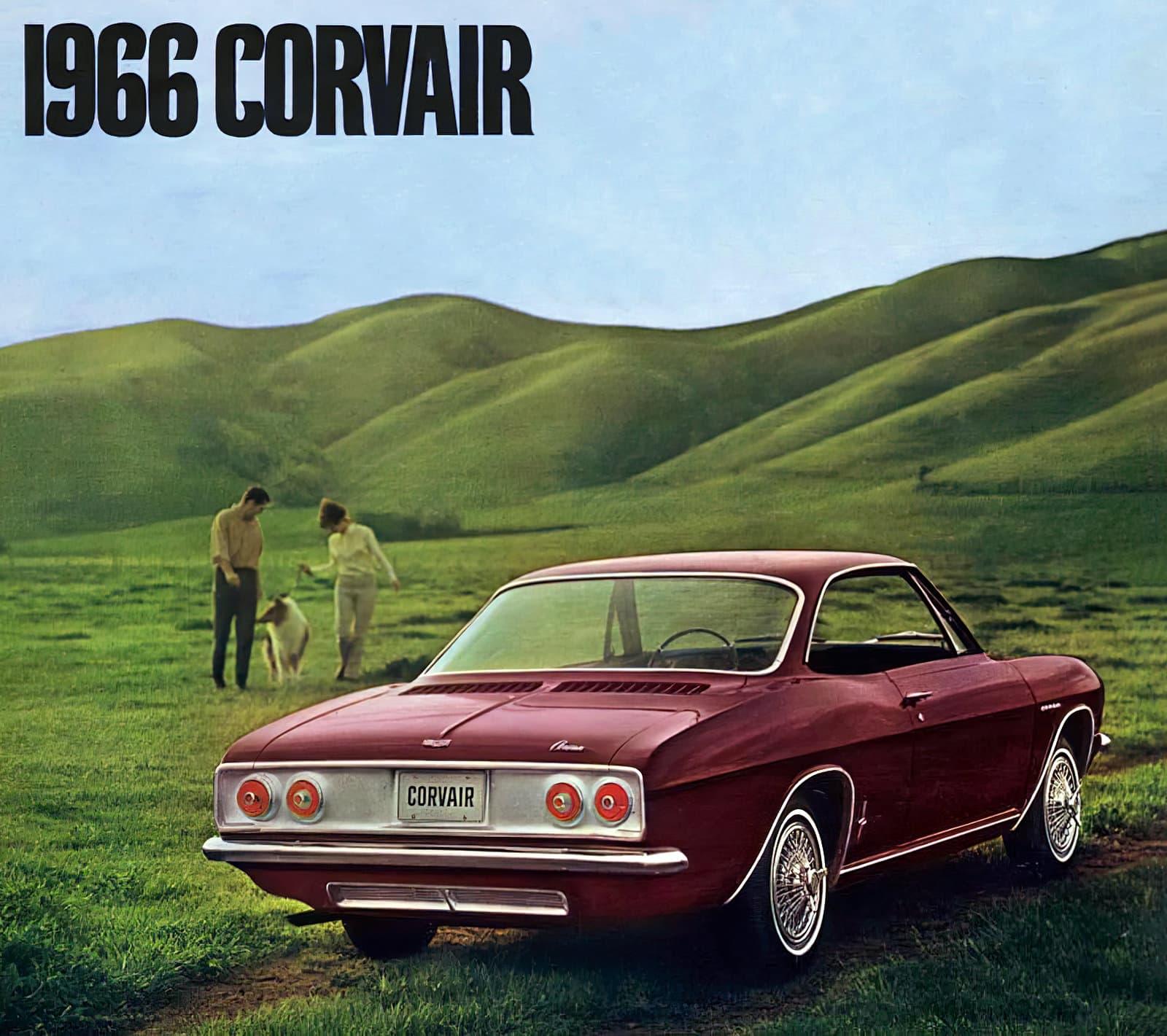1966 Chevy Corvair car