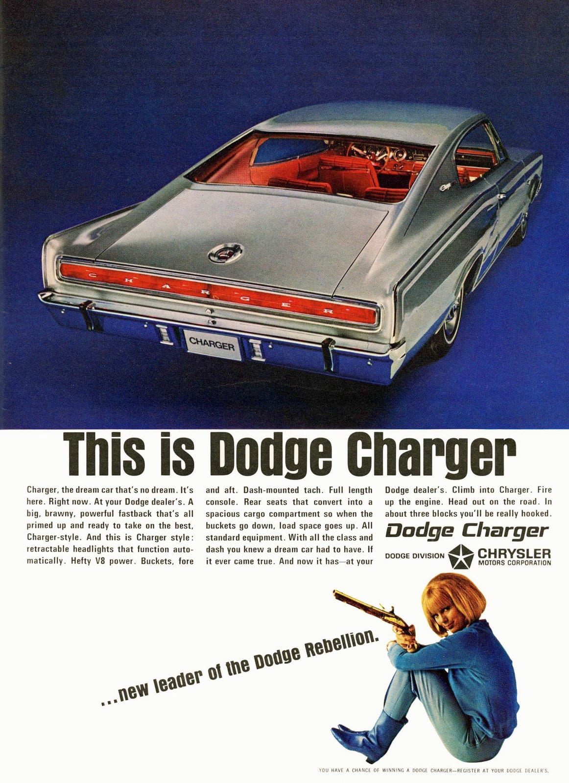 1966 Dodge Charger car