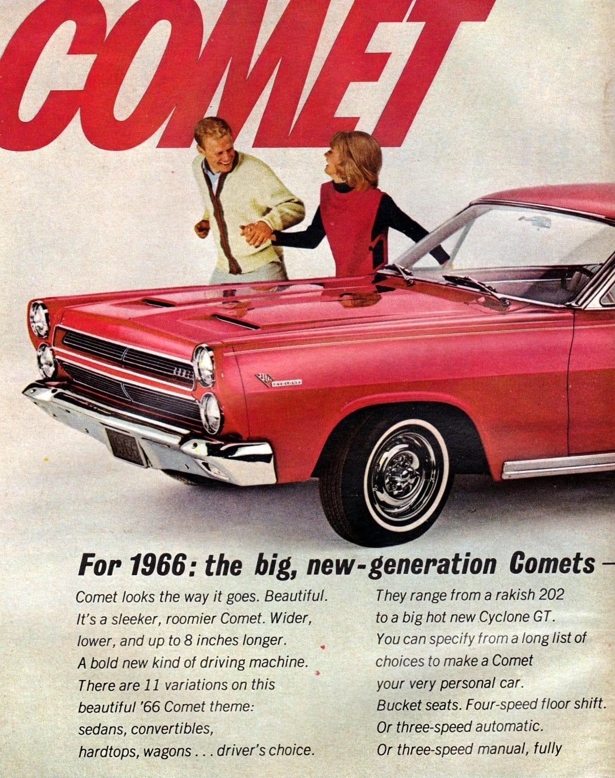 1966 Mercury Comet Cyclone Hardtop