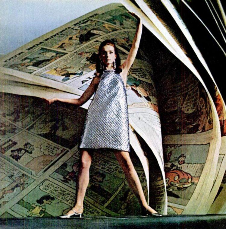 1966 Paper dresses beauty premium fashion