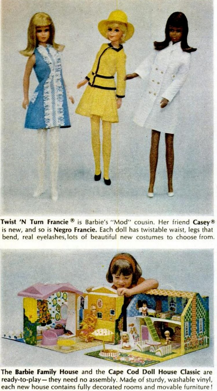 Twist N Turn Francie and Casey (1967)