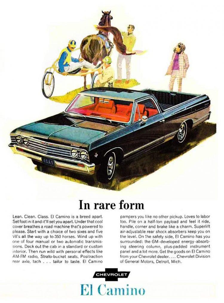 1967 Chevrolet El Camino truck