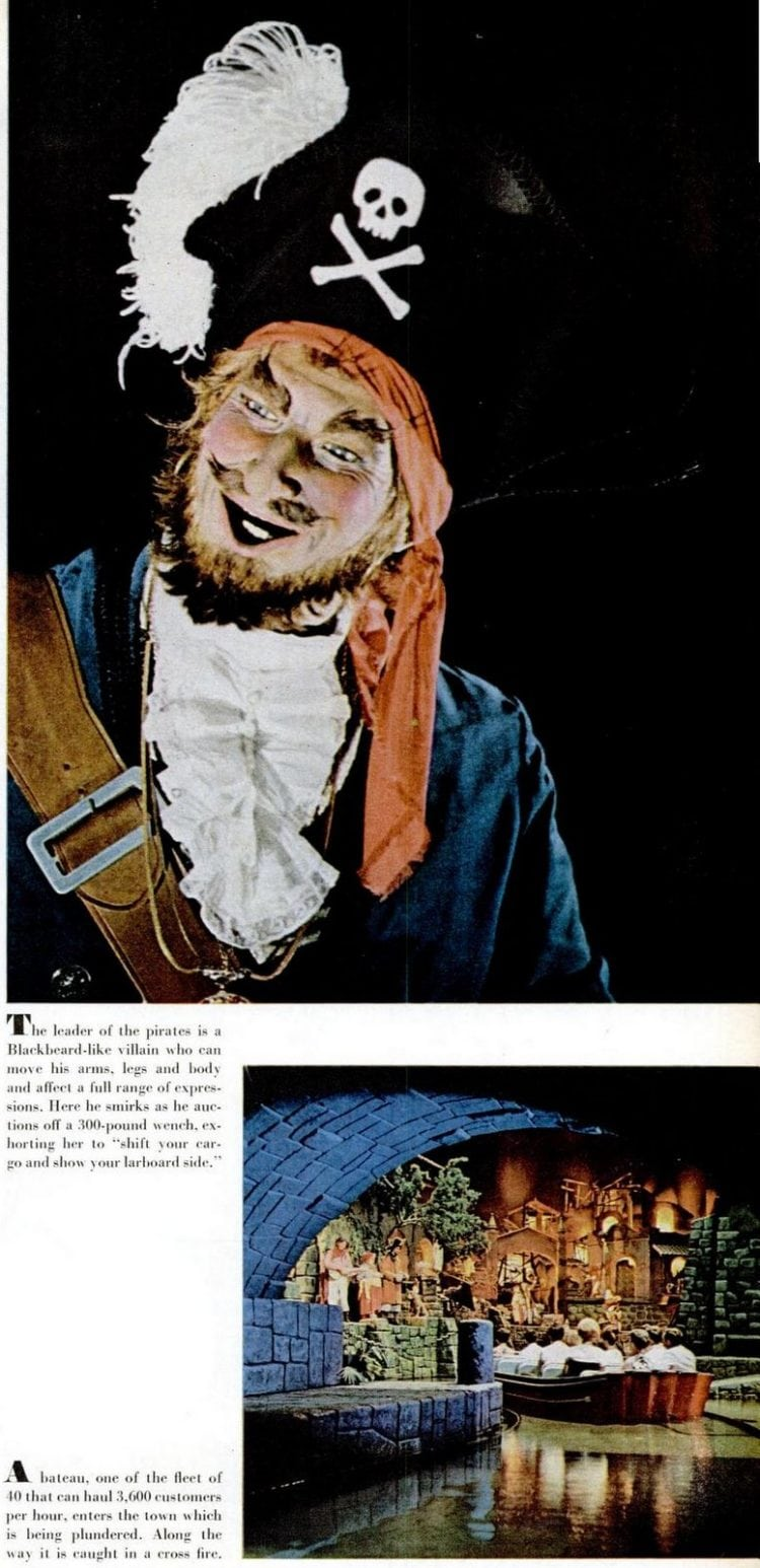 1967 Disneyland - Pirates of the Caribbean ride