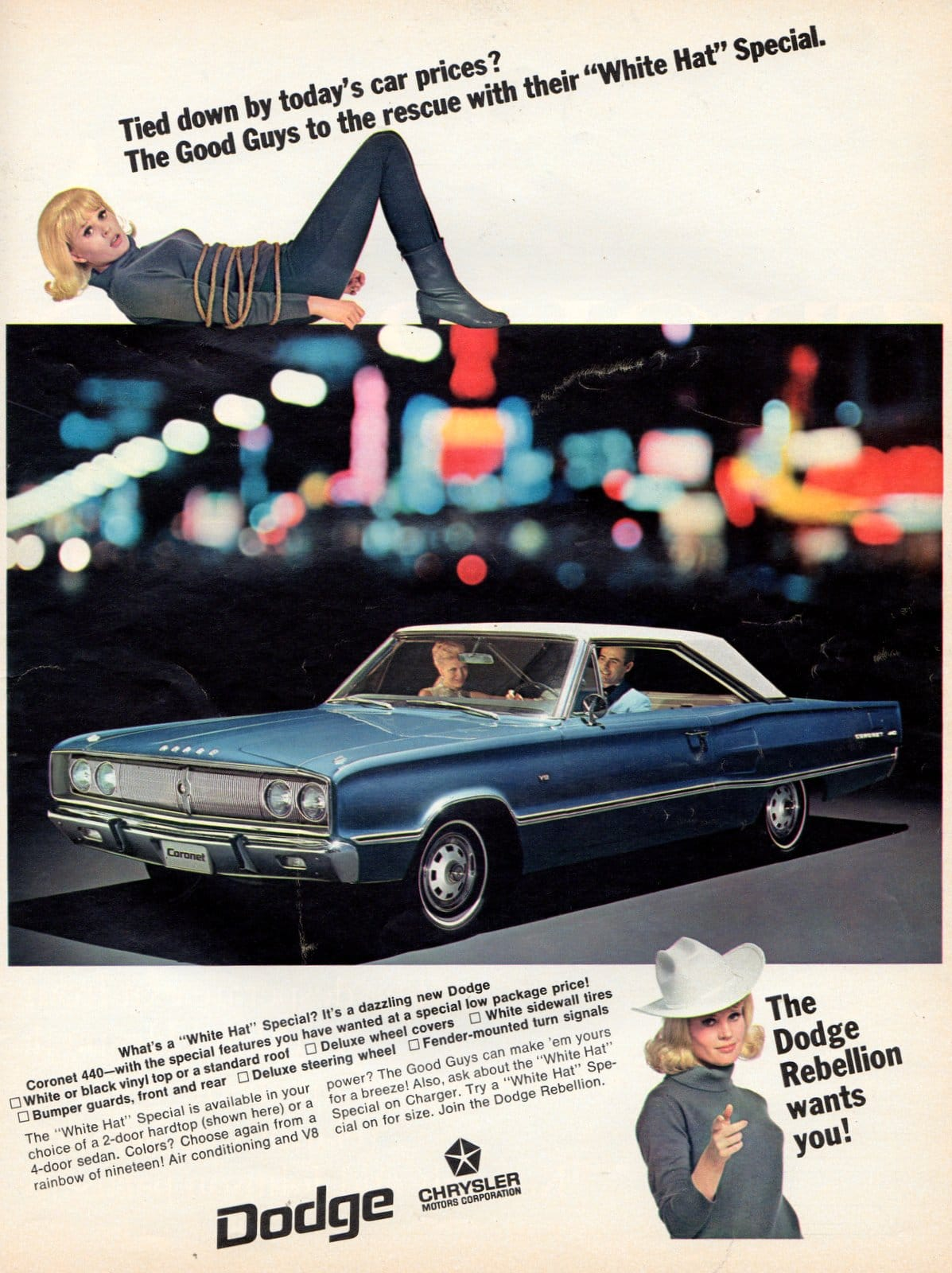 1967 Dodge Coronet cars