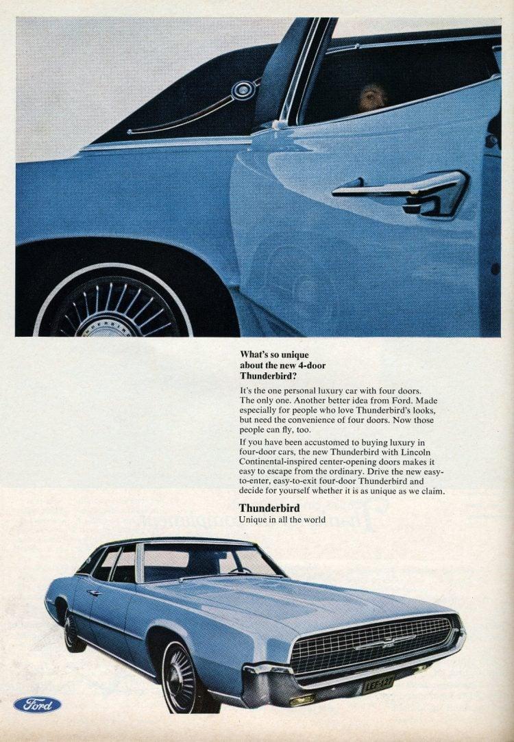 1967 Ford Thunderbird cars (1)