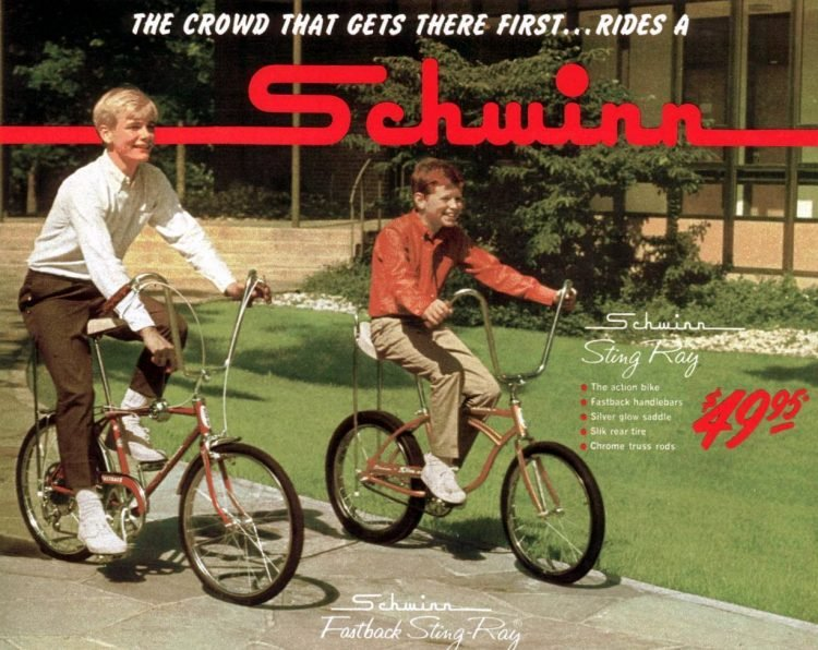 1967 Schwinn Sting Ray bikes