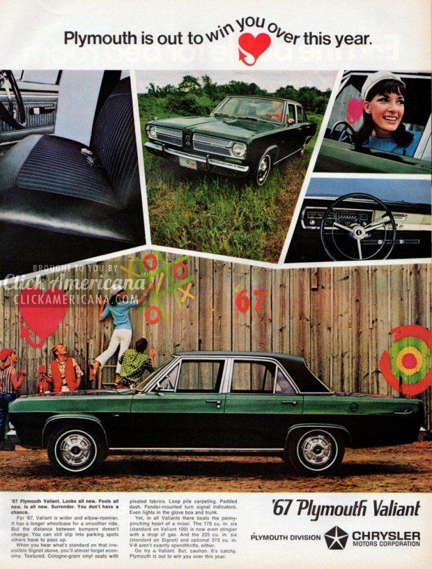 1967 '67 Plymouth Valiant