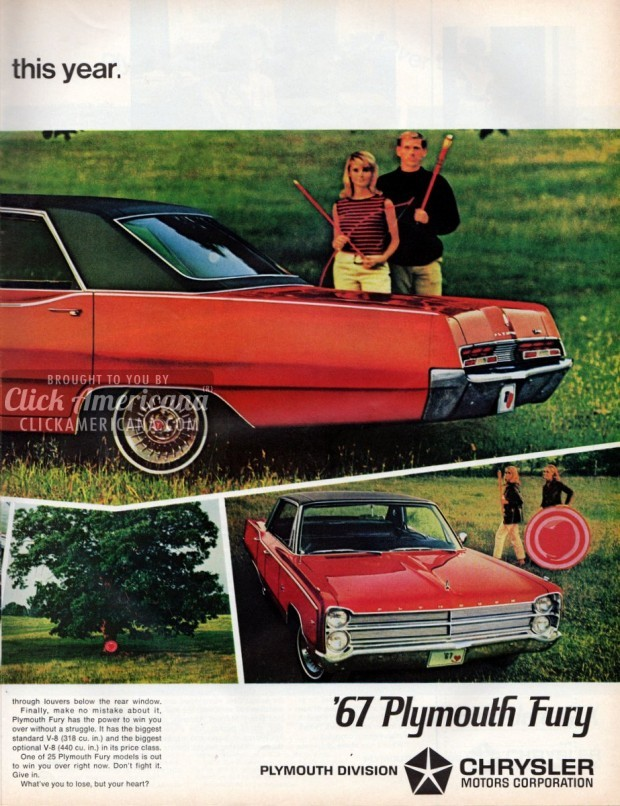 1967 '67 Plymouth Fury
