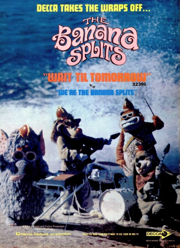 1968 Banana Splits single