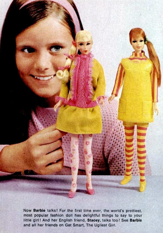 Vintage Barbie talks - A talking doll from 1968