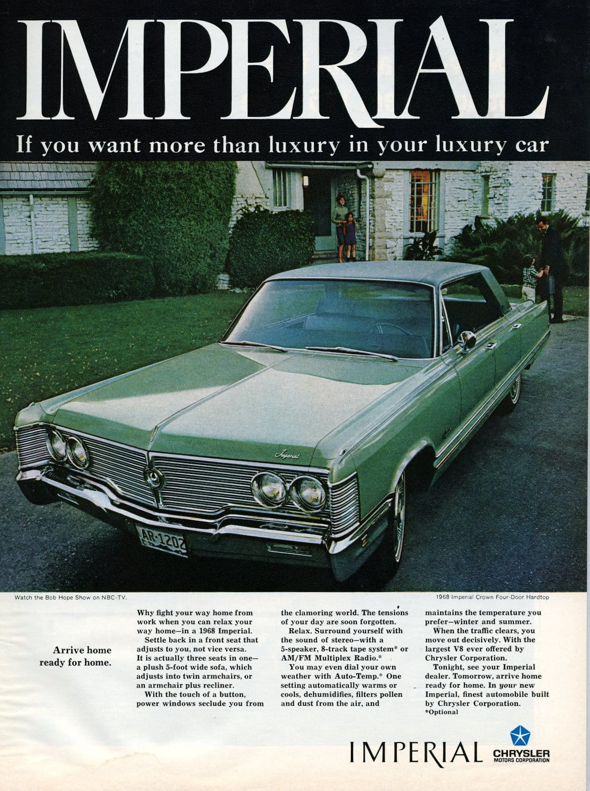 1968 Chrysler Imperial - vintage classic car ad (3)