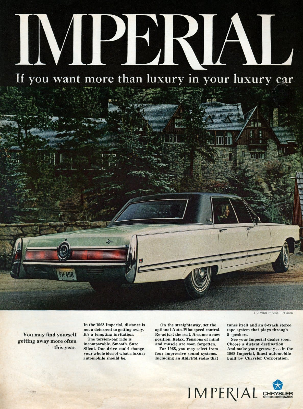 1968 Chrysler Imperial - vintage classic car ad (4)