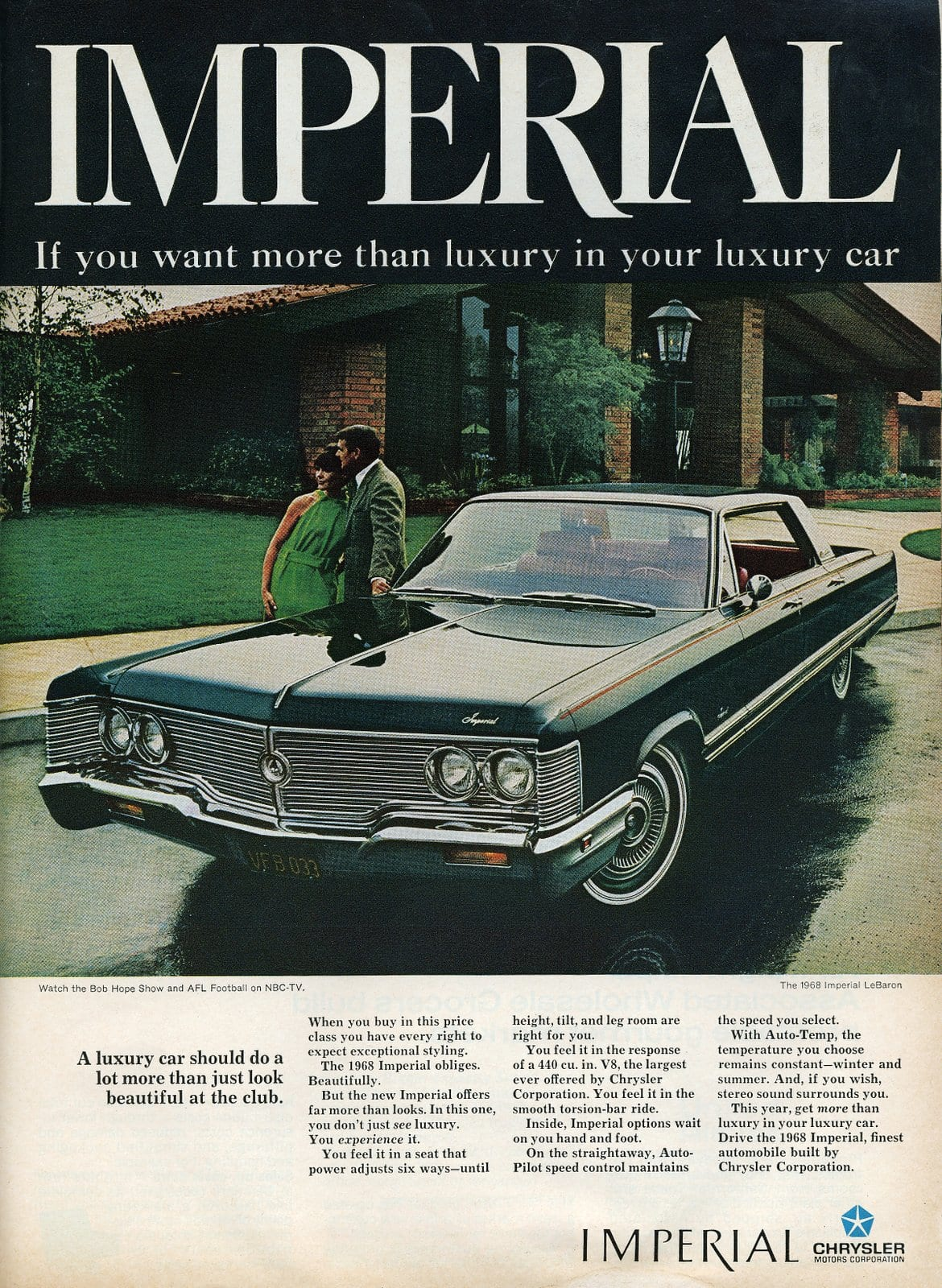 1968 Chrysler Imperial - vintage classic car ad (6)
