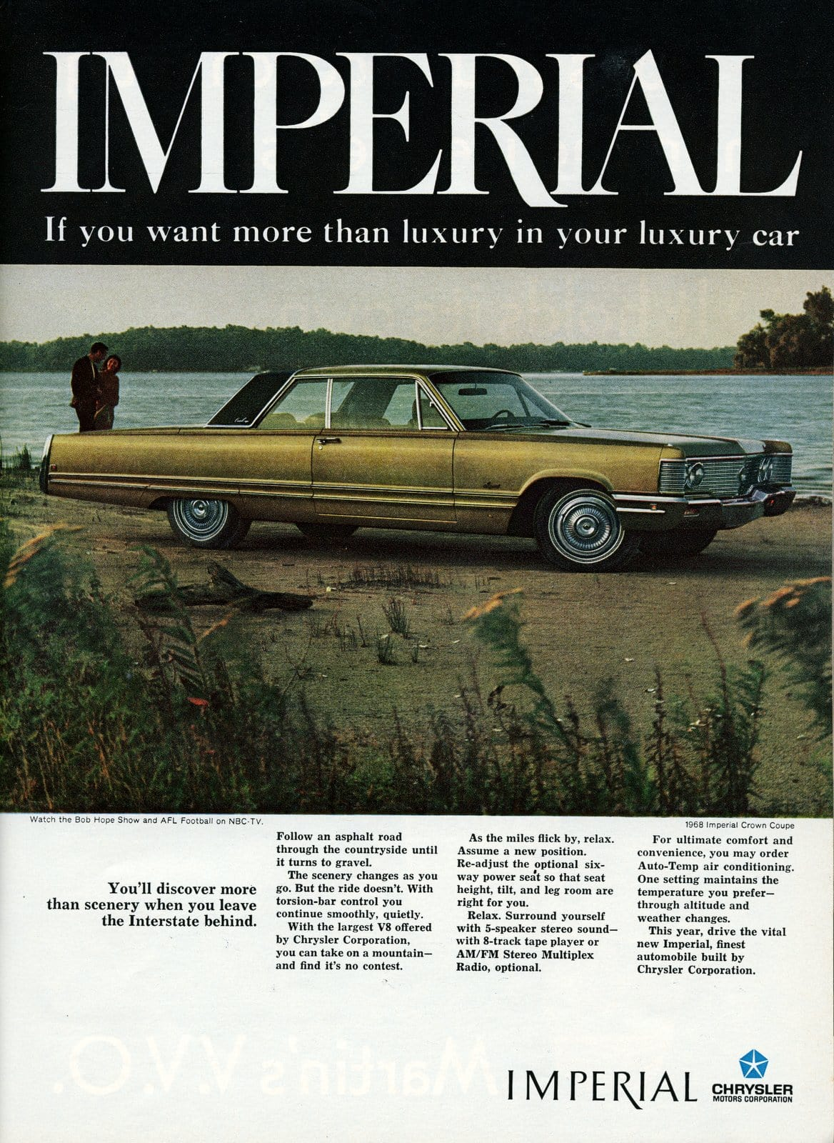1968 Chrysler Imperial - vintage classic car ad (7)