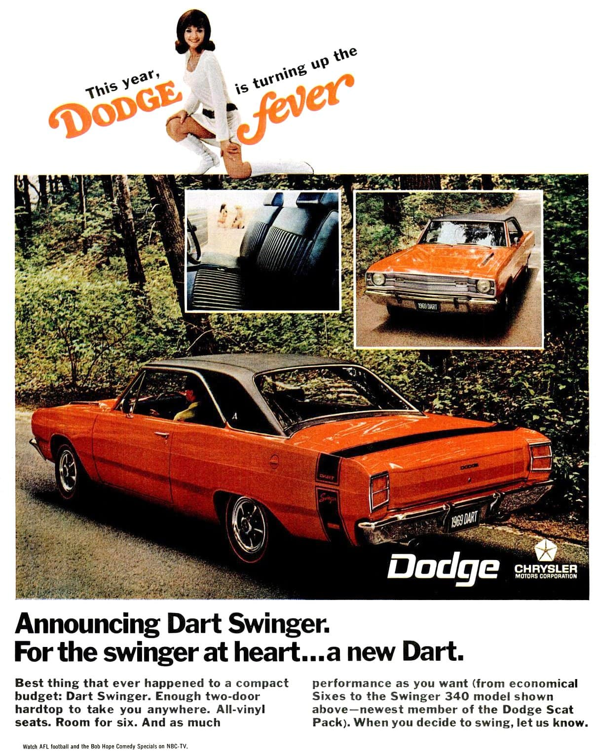 1968 Dart Swinger cars