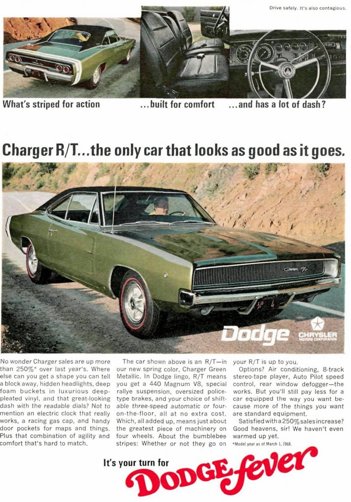 1968 Dodge Chargers
