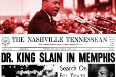 1968 - Dr King slain in Memphis