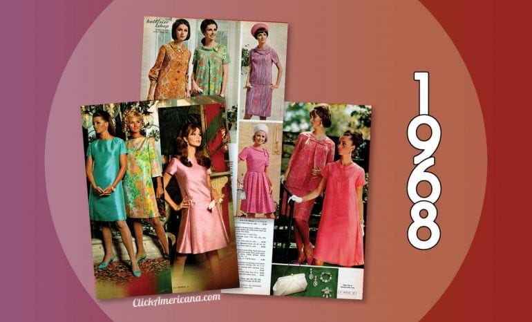 1968 - Dresses and fashion for women