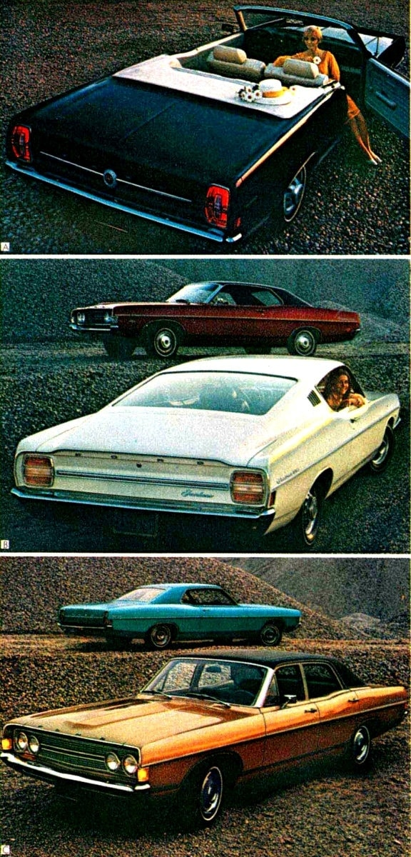 1968 Ford cars (3)
