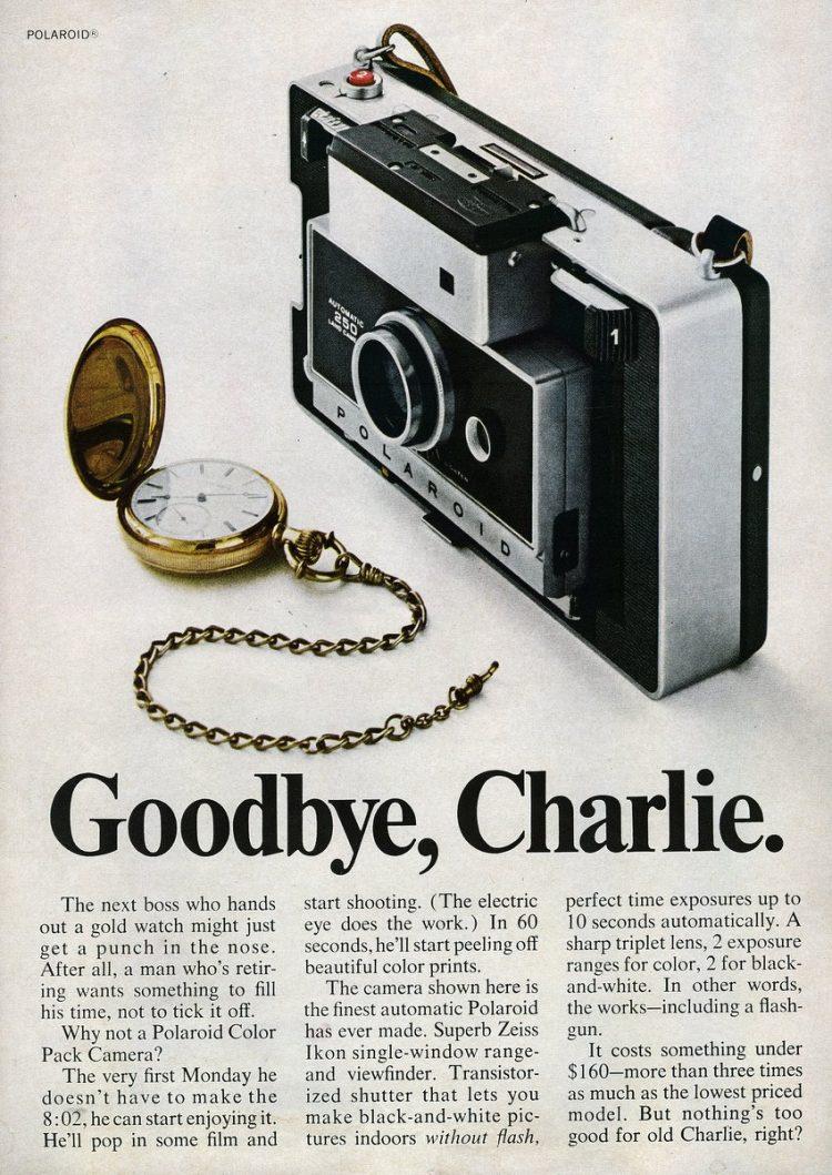 1968-Polaroid Color Pack Camera