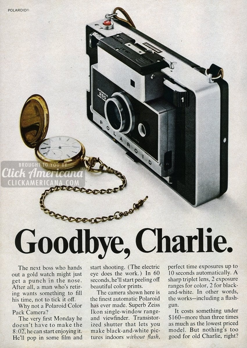 Polaroid: The finest automatic cameras in the world (1968)