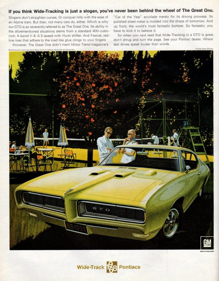 1968 Pontiac GTO classic cars