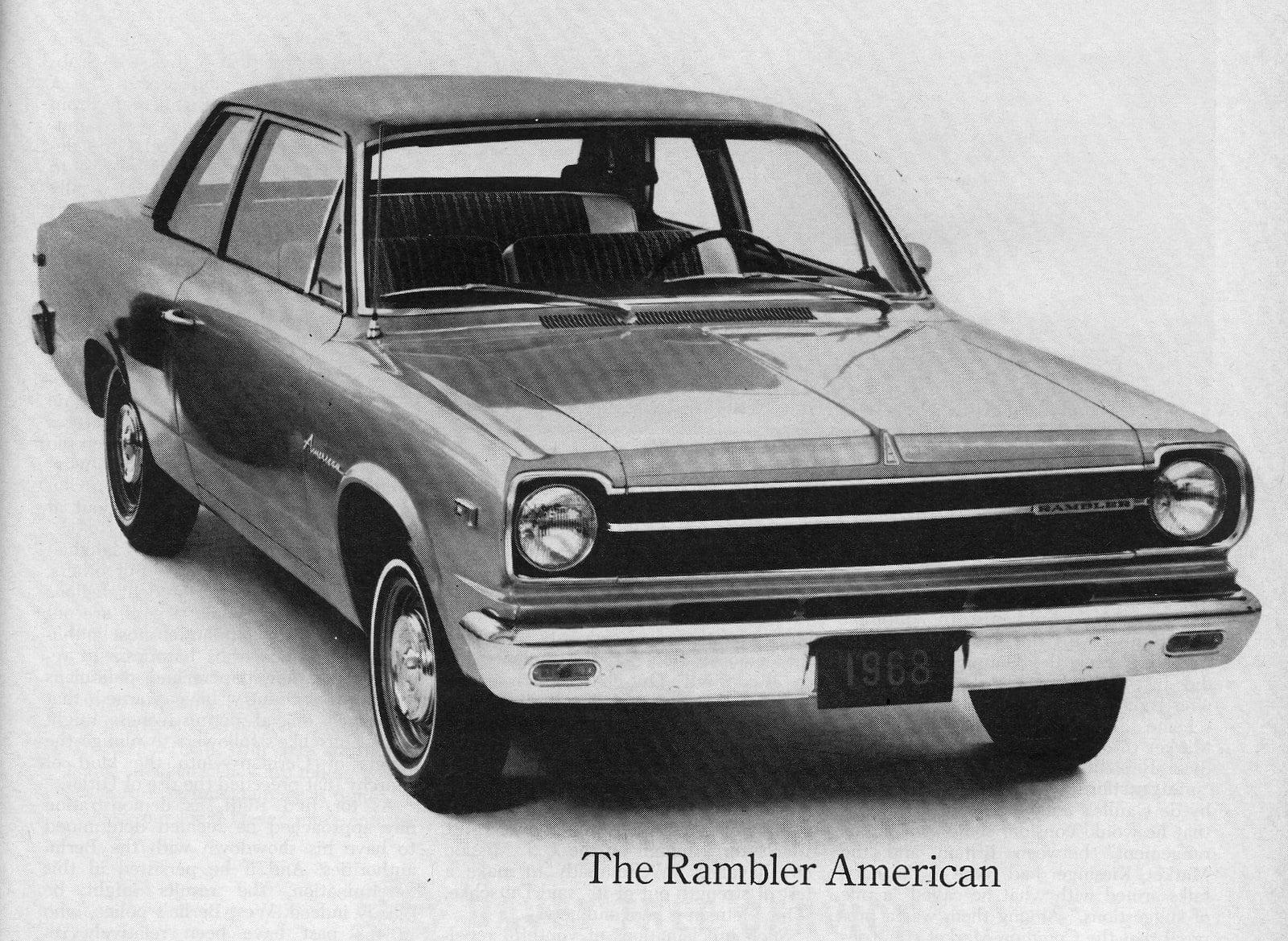 1968 Rambler American car