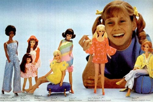 Barbie from 1969