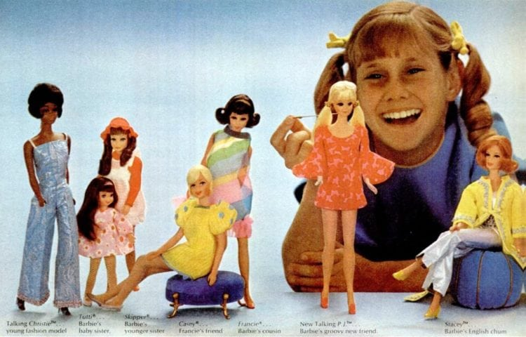 Classic and Vintage Barbie toys and accessories