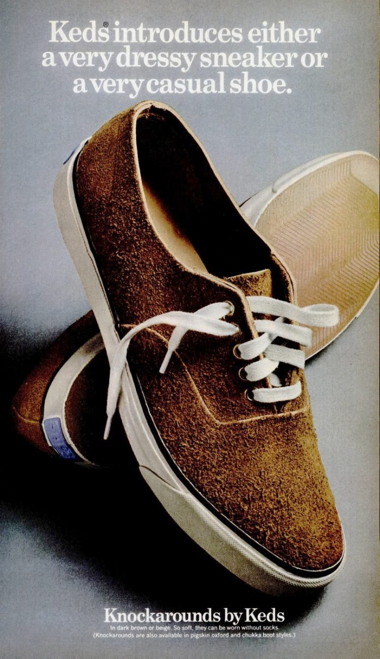 1969 Brown suede Keds shoes