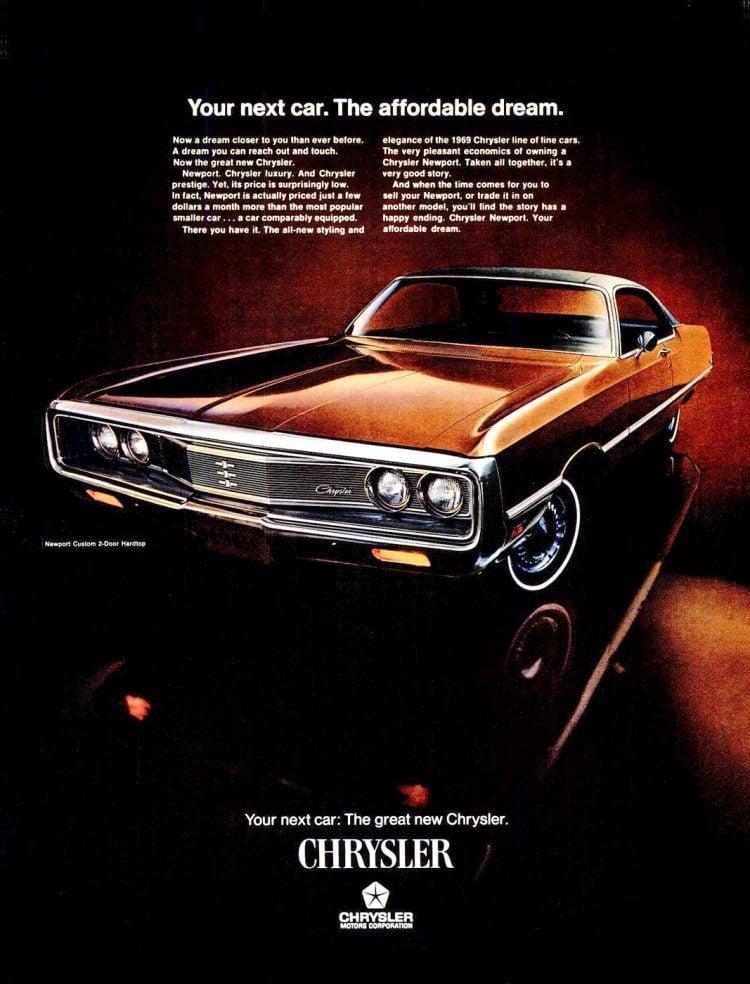 1969 Chrysler Newport classic car