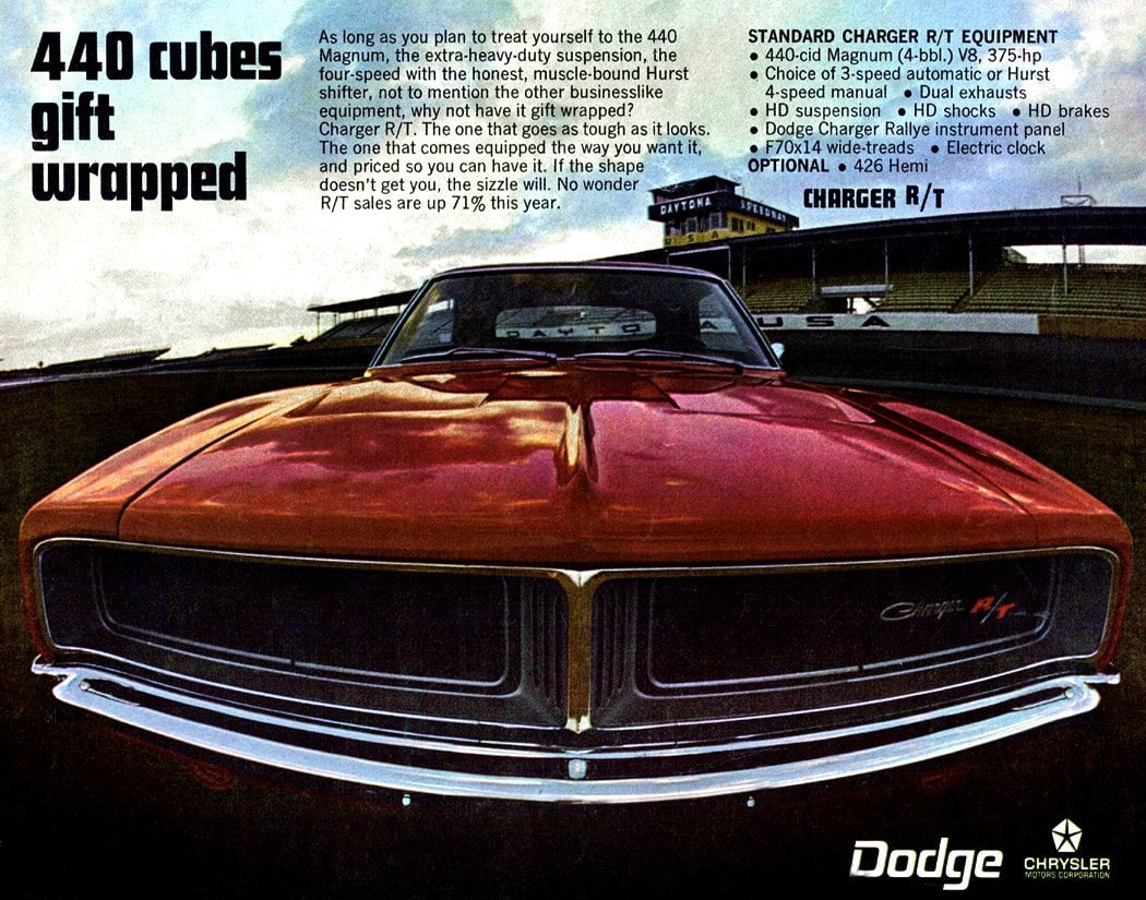 1969 Dodge Charger - 440 cubes gift-wrapped