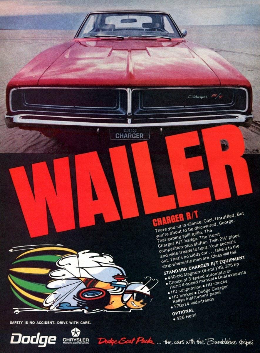 1969 Dodge Charger - Wailer