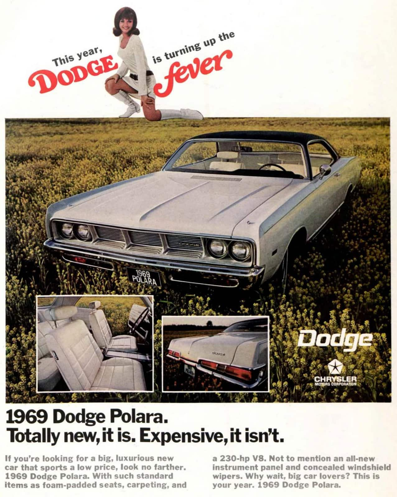 1969 Dodge Polara cars