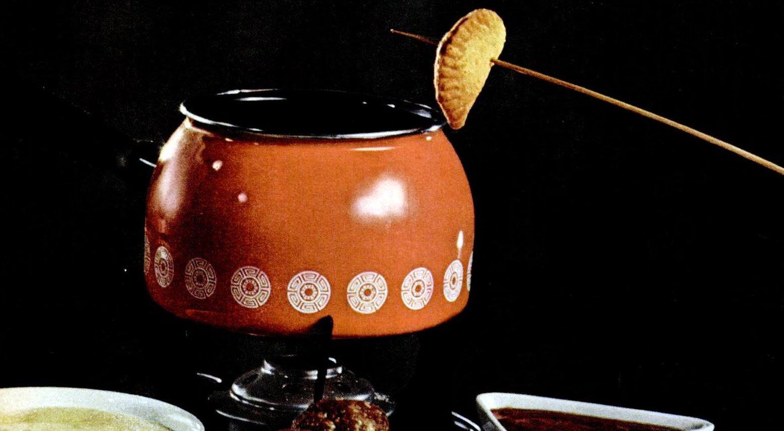 1969 Fondue fun recipes