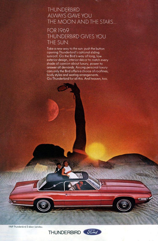 1969 Ford Thunderbird cars
