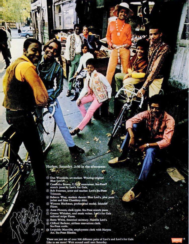 1969 Levi's clothing - Fashion