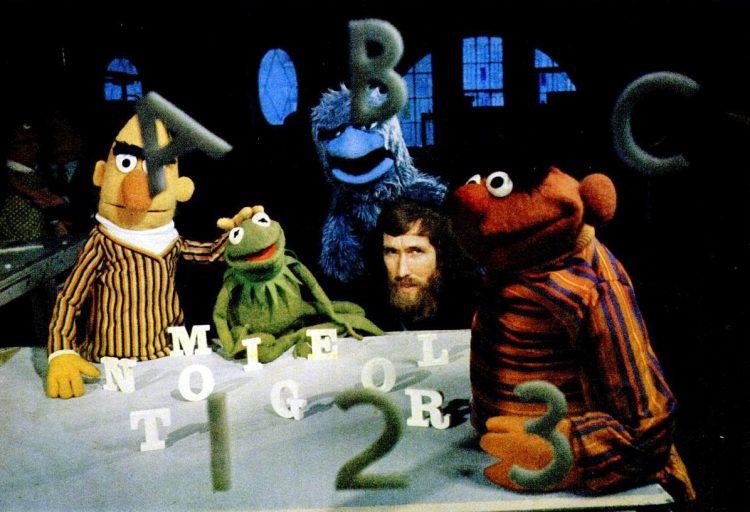 1969 Muppets Sesame Street PBS