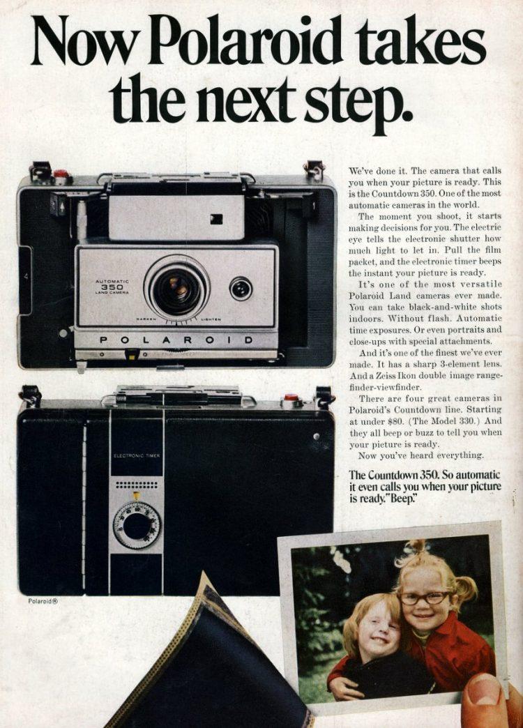 1969-Now Polaroid takes the next step