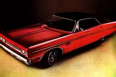 1969 Plymouth Fury III 4-door hardtop