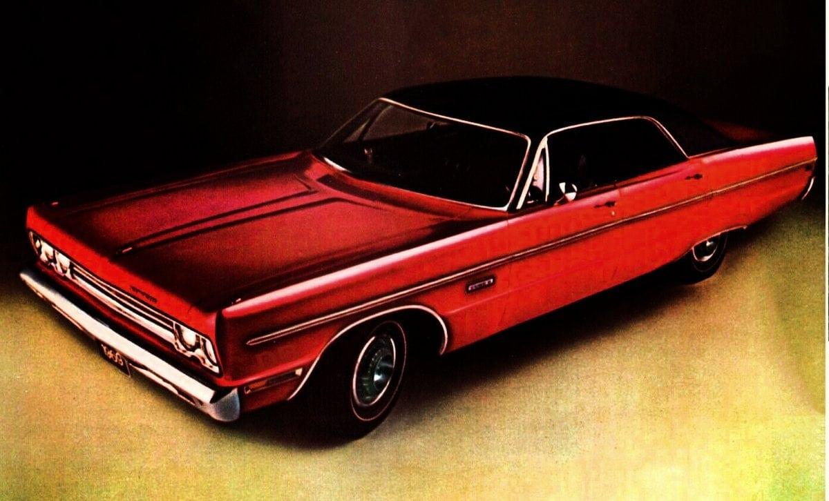 1969 Plymouth Fury III 4-door hardtop