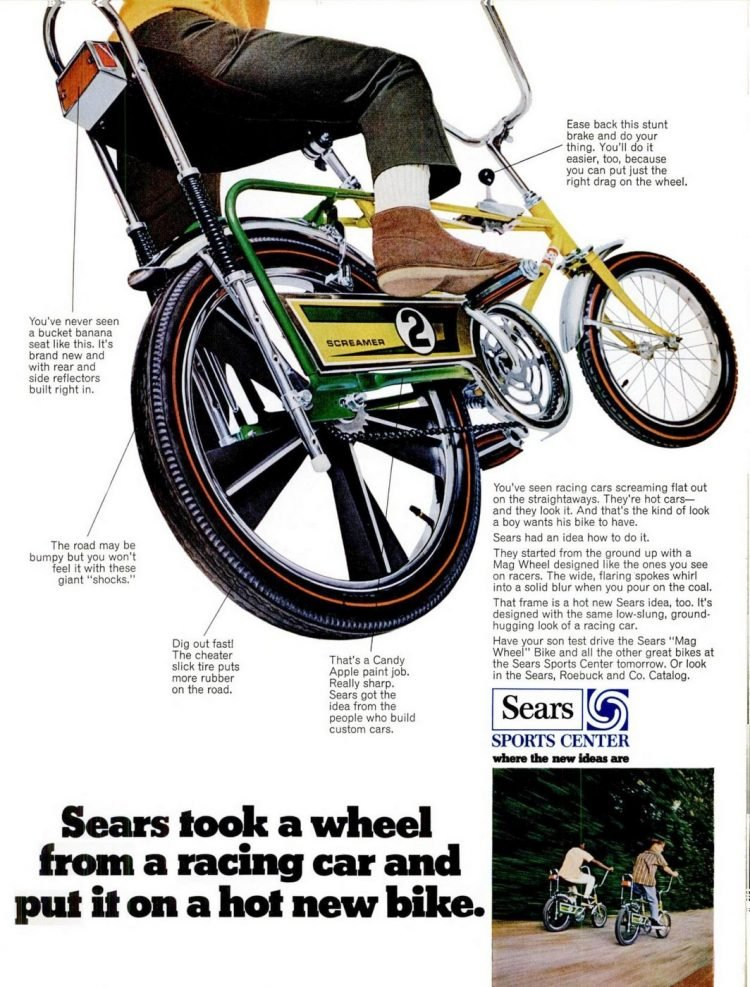 1969 Sears Screamer - Vintage banana seat bikes