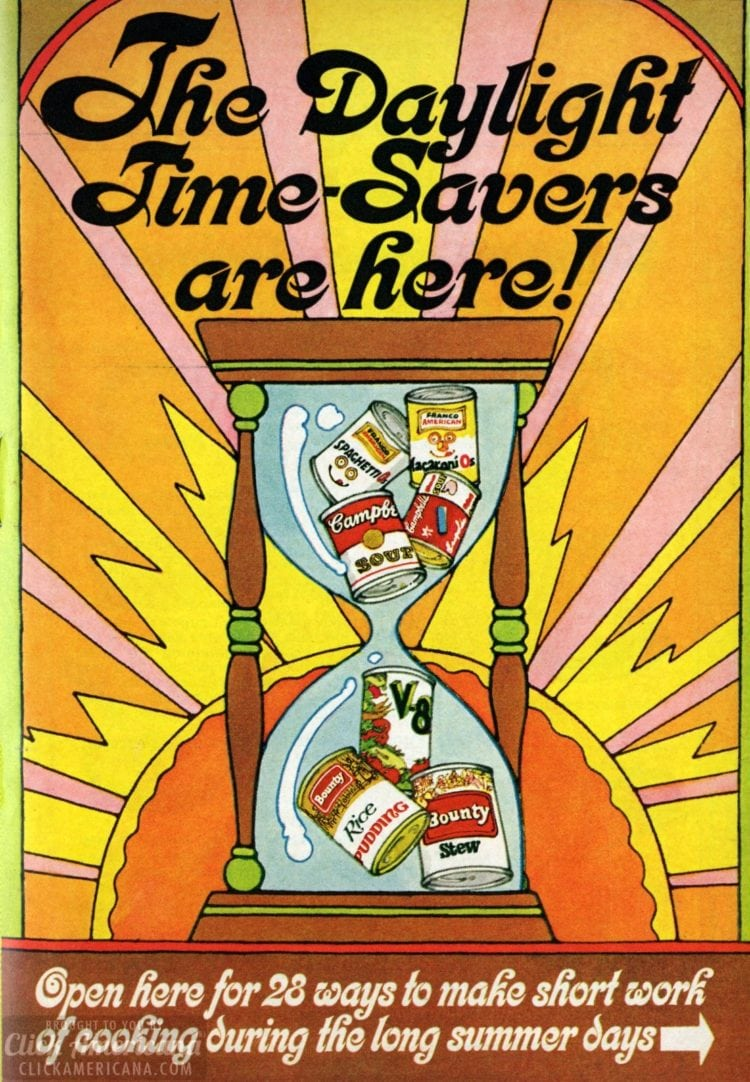 1969 Summer recipes - Daylight time savers - Dinner recipe book