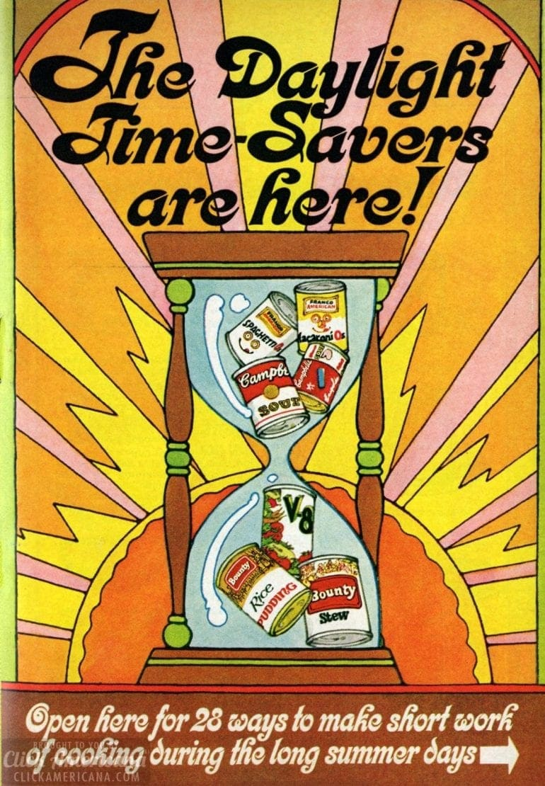 1969 Summer recipes - Daylight time savers recipe book