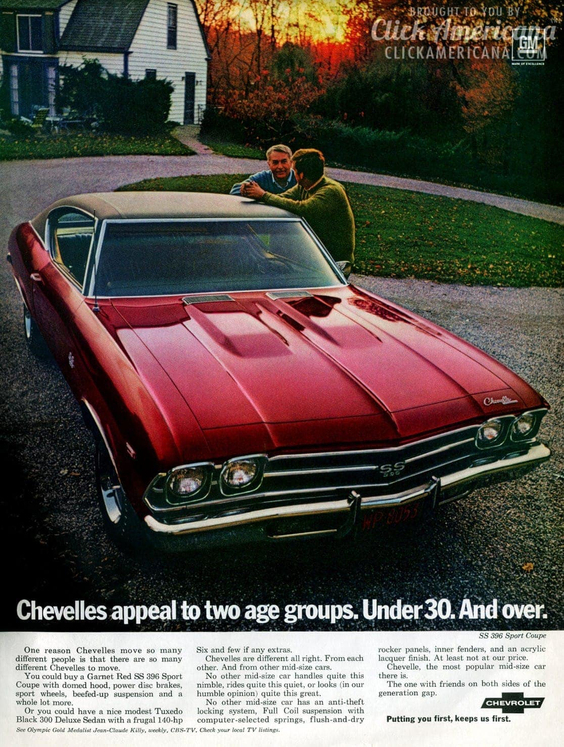 chevy chevelle malibu 1969 click americana. Black Bedroom Furniture Sets. Home Design Ideas