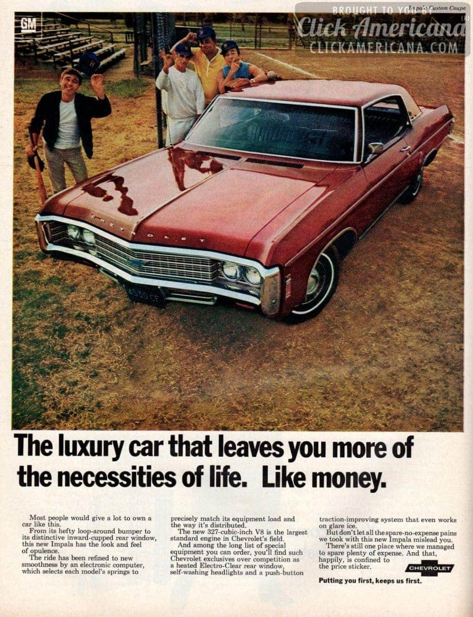 Chevy Impala coupes: Ridiculously reasonable (1969)