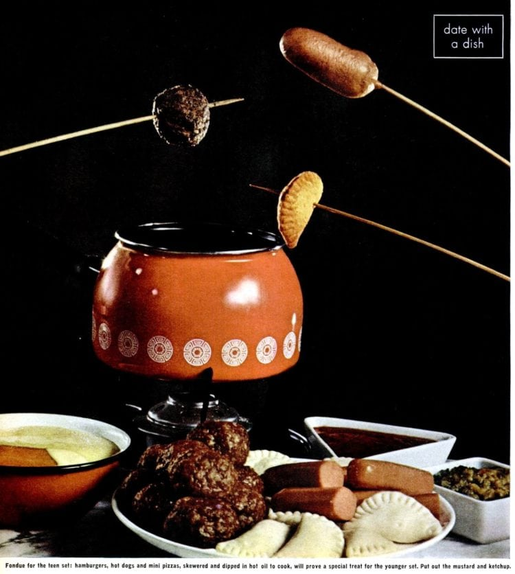 Vintage fondue recipes