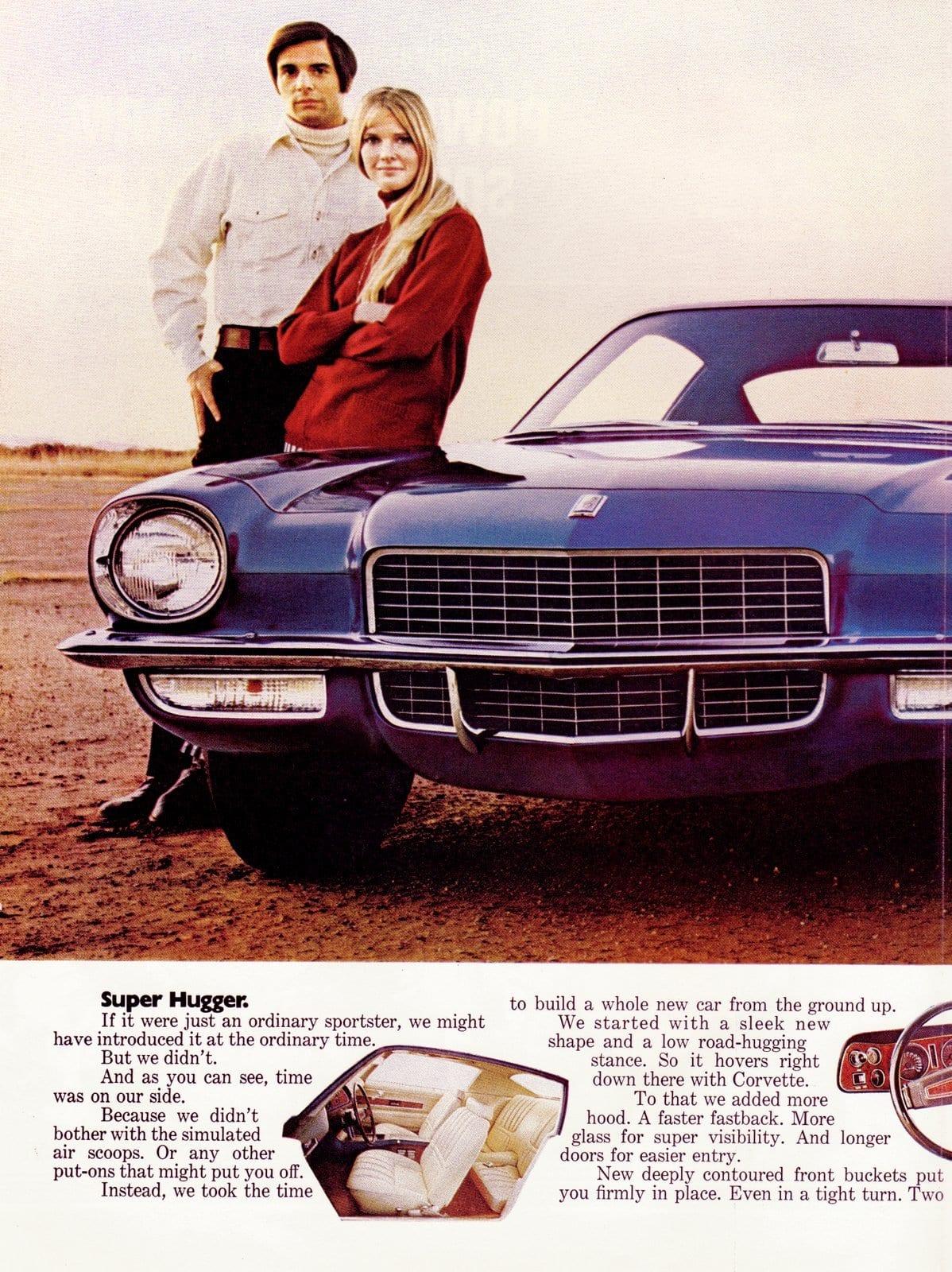 1970 Camaro Super Hugger - Classic Chevy cars (1)