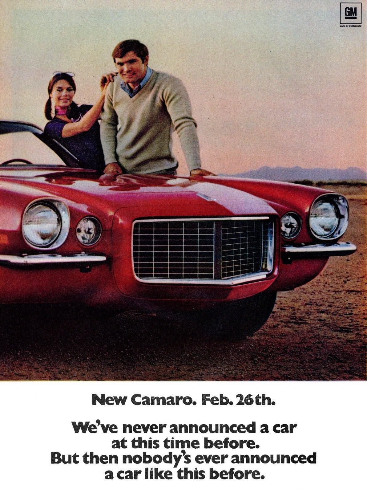 1970 Camaro Super Hugger - Classic Chevy cars (2)