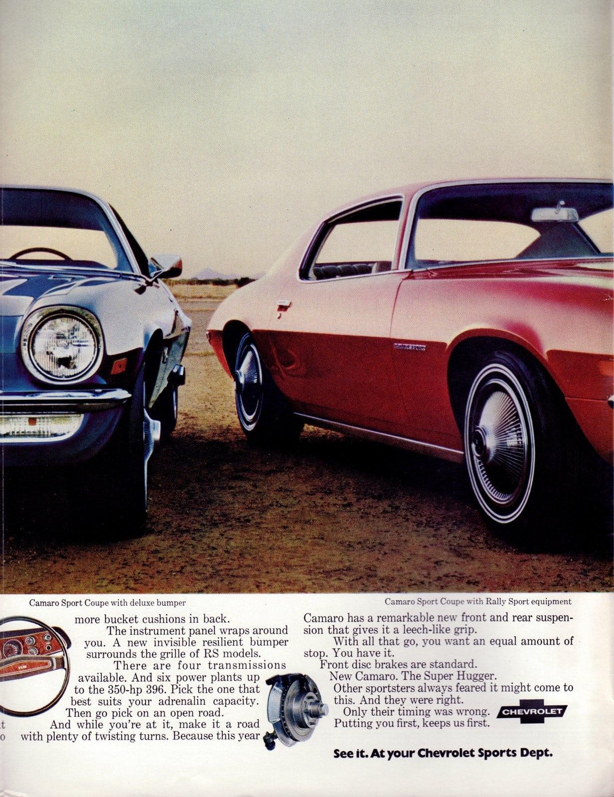1970 Camaro Super Hugger - Classic Chevy cars (3)